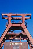 Headgear, Zeche Tariff Union, Essen, Dysentery, Ruhr, North Rhine Westphalia, Germany