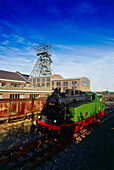 Steam Engine Anna, LWL Museum Zeche Zollern, Dortmund, Ruhr Valley, Ruhr, North Rhine Westphalia, Germany