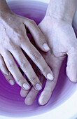 Adult, Adults, Beauty, Beauty Care, Close up, Close-up, Color, Colour, Contemporary, Detail, Details, Female, Feminine, Finger, Fingers, Hand, Hands, Human, Hygiene, Indoor, Indoors, Inside, Interior, Liquid, Liquids, Manicure, One, One person, People, P