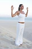 emplate, Contemplating, Contemplation, Contemporary, Daytime, Equilibrium, Exercise, Exterior, Female