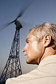 Wind Turbine and Man