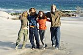 Exuberant, Facial expression, Facial expressions, Female, Four, Four persons, Friend, Friends, Friend