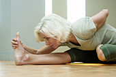 yoga, stretching
