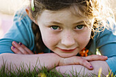 Eyes, Face, Faces, Facing camera, Family, Female, Fresh, Garden, Girl, Girls, Grass, Happy, Headsho