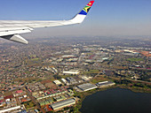 Aerial view. City of Durban. Kwazulu-Natal province. South Africa
