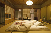 Hiirigaya Ryokan (traditional Japanese inn), Kyoto. Kansai. Japan