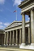Europe, UK, GB, England, London, British Museum entrance