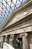 Europe, UK, GB, England, London, British Museum great hall