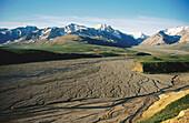 Polychrome Pass, Denali NP. Alaska. USA