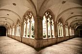 Dominican convent cloister. Dubrovnik, Croatia