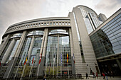 European Parliament, Brussels. Belgium