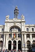Correos y Telegrafos building (1915-1922 by architect Miguel Angel Navarro). Valencia. Comunidad Valenciana, Spain