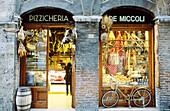 Delicatessen. Siena. Tuscany. Italy