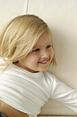 Female, Girl, Girls, Grin, Grinning, Happiness, Happy, Home, Human, Indoor, Indoors, Infant, Infanti