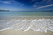 Bahía de Alcúdia. Muro beach. Balearic Islands. Spain.