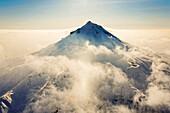 Viljuchinsky volcano in Winter, Kamchatka, Sibiria, Russia