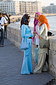 Along the Corniche. City of Alexandria. Egypt