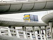 Truck at port of Calais. France