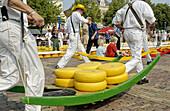 Cheese market, De Waag. Alkmaar. Netherlands