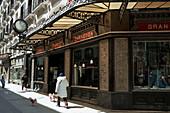 Gran Café in Alfonso I Street, Zaragoza. Aragón, Spain