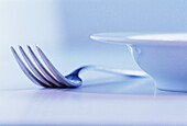 Close up, Close-up, Closeup, Color, Colour, Concept, Concepts, Cutlery, Detail, Details, Dish, Dishes, Fork, Forks, Horizontal, Indoor, Indoors, Inside, Interior, Object, Objects, Plate, Plates, Still life, Thing, Things, B75-202815, agefotostock