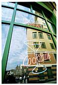 Ad, Adver, Advertisement, Advertising, Alcohol, Alcoholic drink, Alcoholic drinks, Amusement, Attracting attention, Bar, Bars, Building, Buildings, Cities, City, Cocktail, Cocktails, Color, Colour, Daytime, Exterior, Facade, Façade, Facades, Façades, Fun