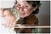 Glasses, Grin, Grinning, Headshot, Headshots, Hobbies, Hobby, Human, Indoor, Indoors, Interior, Kid