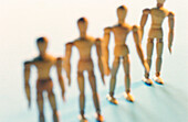 Anatomy, Body, Color, Colour, Concept, Concepts, Dehumanization, Draw, Drawing, Dummies, Dummy, Figure, Figures, Fine art, Fine arts, Four, Four items, Horizontal, Lifeless, Lifelessness, Likeness, Line, Lines, Mannequin, Mannequins, Model, Models, Objec