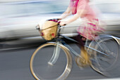Action, Adult, Adults, Anonymous, Bicycle, Bicycles, Bicyclist, Bicyclists, Bike, Biker, Bikers, Bikes, Biking, Cities, City, Color, Colour, Contemporary, Cycle, Cycles, Daytime, Detail, Details, Exterior, Female, Human, Leisure, Motion, Movement, Moving