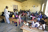 Elementary class in Saly. Petite Côte. Senegal
