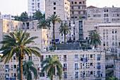 Popular low cost dwellings boilt by French architect Fernand Pouillon. Algiers. Algeria