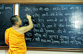 Monks attending classes. International Buddhist Meditation Centre (IBMC). Bangkok. Thailand