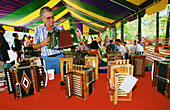 Accordion, Accordions, Adult, Adults, Collect, Collecting, Color, Colour, Contemporary, Daytime, Festival, Festivals, Folk, Folklore, Hobbies, Hobby, Holiday, Holidays, Horizontal, Human, Indoor, Indoors, Inside, Interior, Leisure, Male, Man, Many, Men,