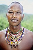 James Ole, Kinyaga senior tour guide and manager. Il Ngwezi Lodge. Laikipia Masai Community Conservancy Park. Kenya