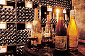 Cave des Cordeliers cellar specialised in prestigious and old Burgundy wines. Beaune. Côte d Or. Burgundy. France.