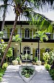 Ernest Hemingway home and museum. Key West. Florida, USA