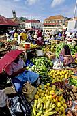 St. George s saturday market. Grenada, Caribbean