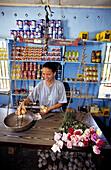 Grocery. La Digue Island. Seychelles
