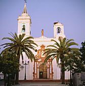 Iglesia de la Asunción, Plaza Virgen de los Reyes, Almonte, Huelva province, Spain