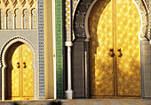 Doors of Royal Palace. Fes. Morocco