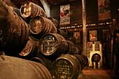 Toro Albala winery, at Aguilar de la Frontera, in the Montilla Moriles wine district. Córdoba province. Andalucia. Spain