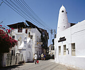 Kenya. Mombasa. Mandhry Mosque in the Old Town.