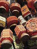 Dirt market, outdoor/indoor flea market selling crafts and antiques. Beijing. China