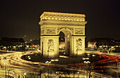 Arc de Triomphe. Place Charles de Gaulle. Paris. France.