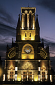 The Catholic church of Phalsbourg. Moselle. France