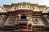 Haveli , noble house. Jaisalmer fort. Thar desert. Rajasthan. India.