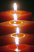 Burn, Burning, Candle, Candles, Close up, Close-up, Closeup, Color, Colour, Concept, Concepts, Detail, Details, Energy, Enlightening, Enlightenment, Faith, Fire, Flame, Flames, Four, Heat, Hope, Illumination, Indoor, Indoors, Interior, Light, Lighting, O