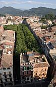 Olot. Girona province, Catalonia. Spain