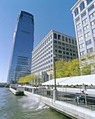 Financial district. Jersey City. New Jersey, USA
