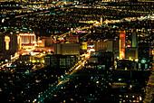 Hotels & casinos, Downtown, Las vegas, Nevada, USA.
